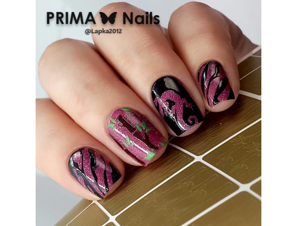 Трафарет Prima Nails Джунгли