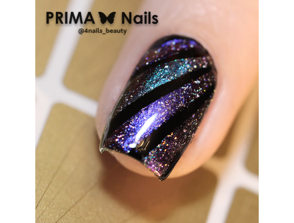 Трафарет Prima Nails Лучи солнца