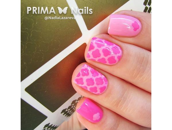 Трафарет Prima Nails Марокко