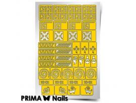 Трафарет Prima Nails Африка