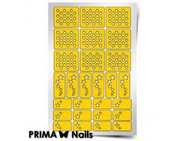 Трафарет Prima Nails Звездочет