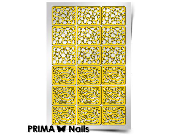 Трафарет Prima Nails Камни