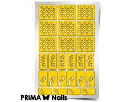 Трафарет Prima Nails Космос