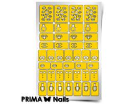Трафарет Prima Nails Модница