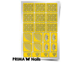 Трафарет Prima Nails Япония